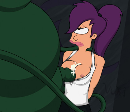 Leela Naked From Futurama